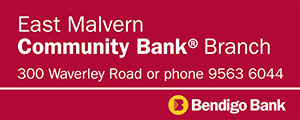 Bendigo Bank East Malvern Branch